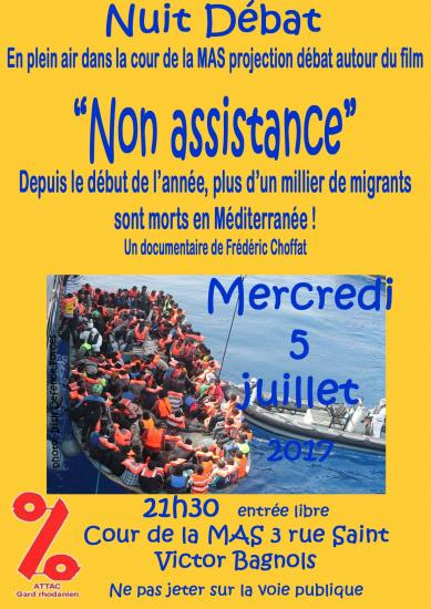 Affiche non assistance copie